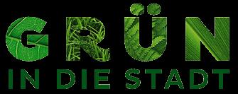 Logo Grün in die Stadt