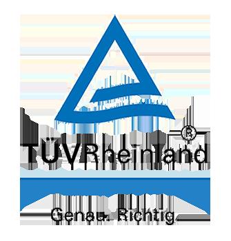 Logo TÜV Rheinland Hochformat