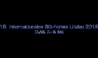 Logo der Veranstaltung 3D-Forum Lindau