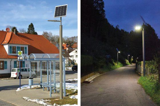 Solarenergie für sichere Wege - Umweltfreundliche und Kosten sparende Beleuchtungsanlagen aus Österreich