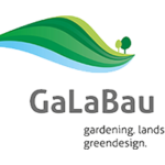 Messelogo der Fachmesse GaLaBau 2022.