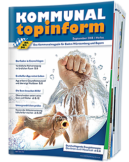 KOMMUNALtopinform Septemberausgabe 2018