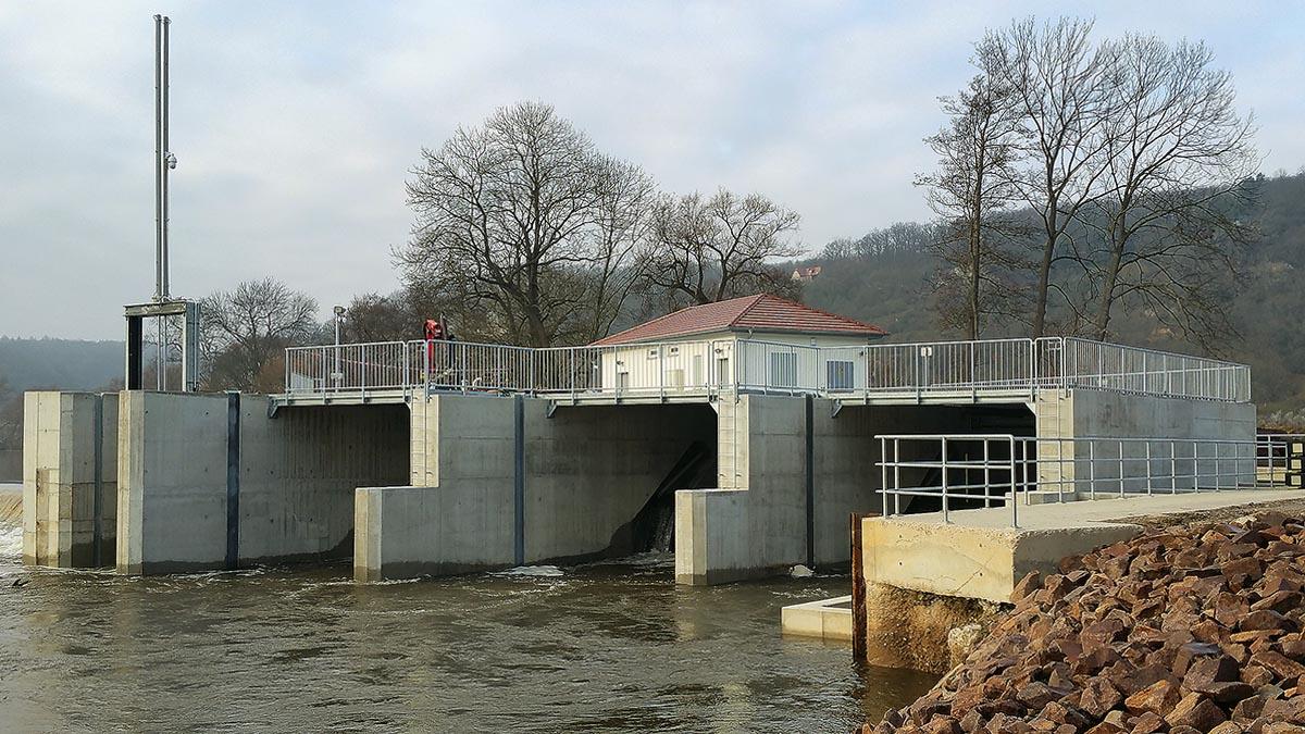 Die Wasserkraftanlage Öblitz