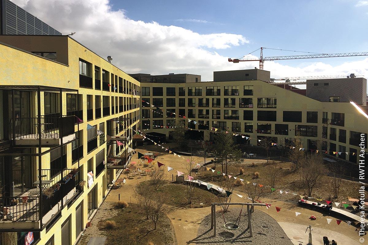 """Das Wohnbauprojekt """"Kalkbreite"""" in Zürich"""