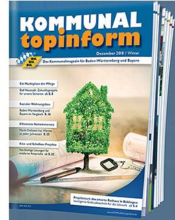 KOMMUNALtopinform Magazinausgabe Dezember 2018