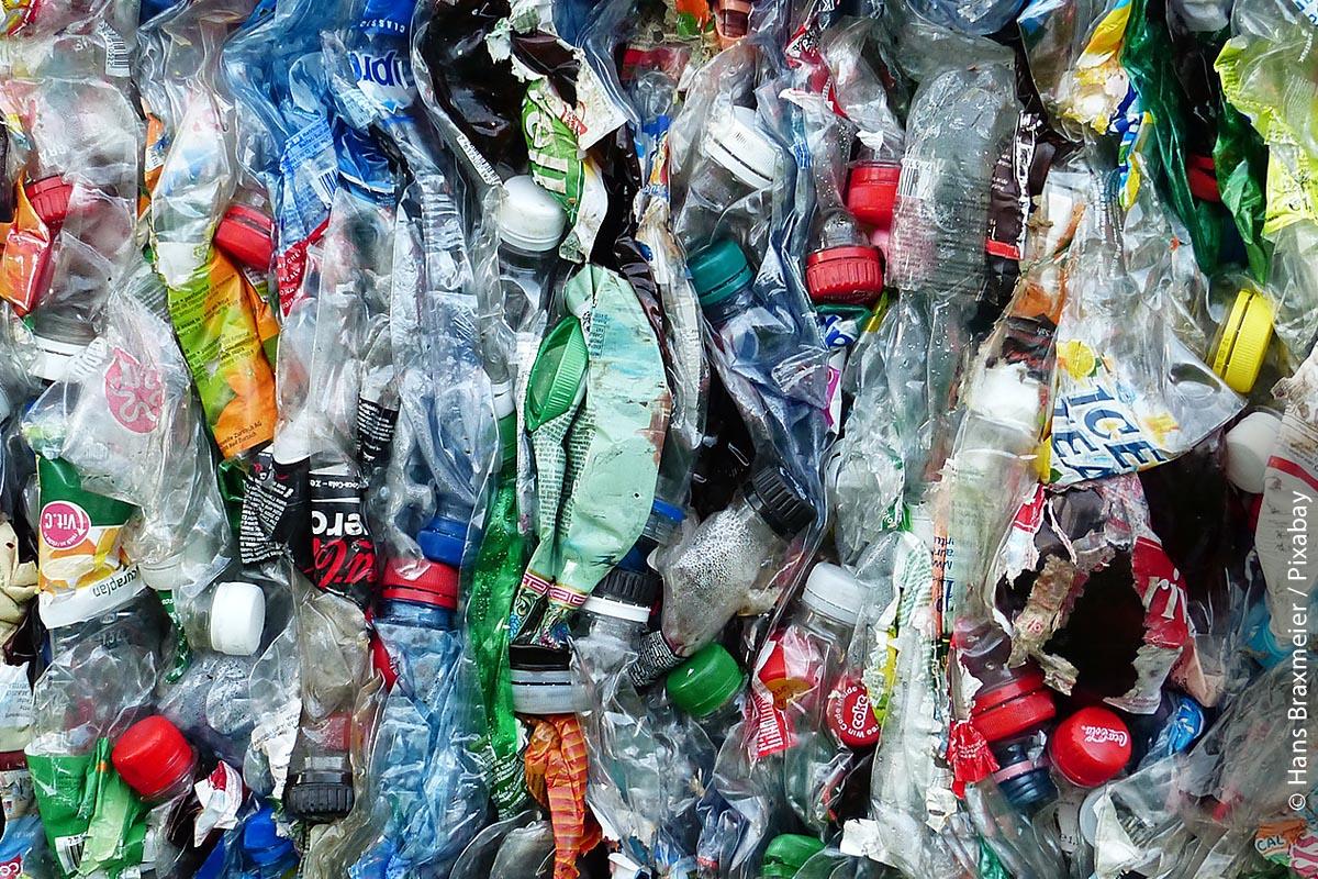 Plastik gehört inzwischen zum Müllproblem Nummer eins!