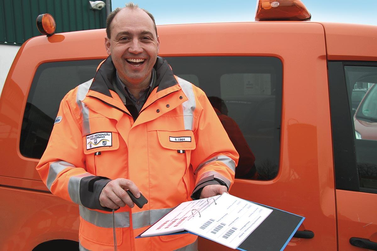 Für Stefan Lipps kam von Anfang an nur eine elektronische Erfassung der Personalzeiten und Leistungen in Frage anstatt handschriftlicher Tagesberichte.