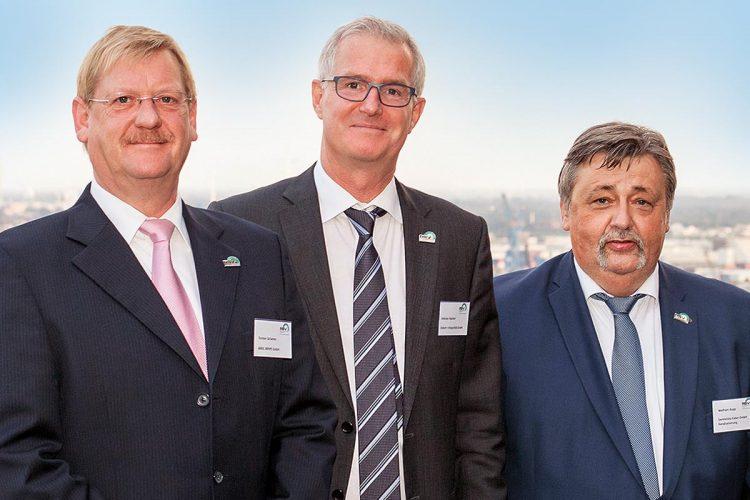 Der Vorstand des RSV treibt den Kurs des Verbandes voran, von links: Torsten Schamer, Andreas Haacker und Wolfram Kopp