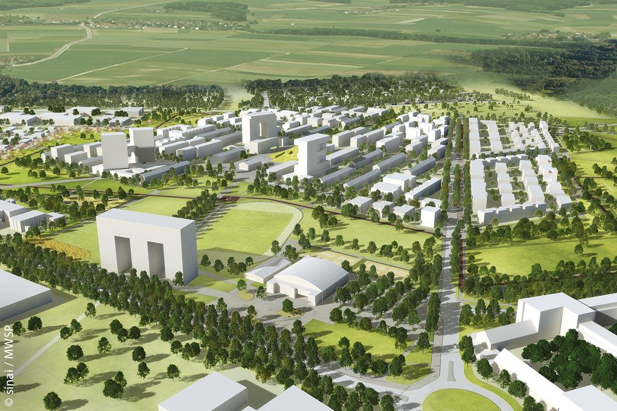 Der Mannheimer Stadtteil FRANKLIN hat eine Fläche so groß wie die Mannheimer Innenstadt.
