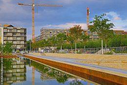BUGA-Bereich der künftigen Genussmeile am Floßhafen