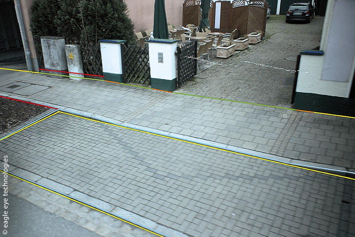 Für die Überflutungsanalyse in Röthenbach wurden zentimetergenaue Informationen zur Straßengeometrie mit der adaptiven Befahrungstechnologie der eagle eye technologies GmbH erstellt.