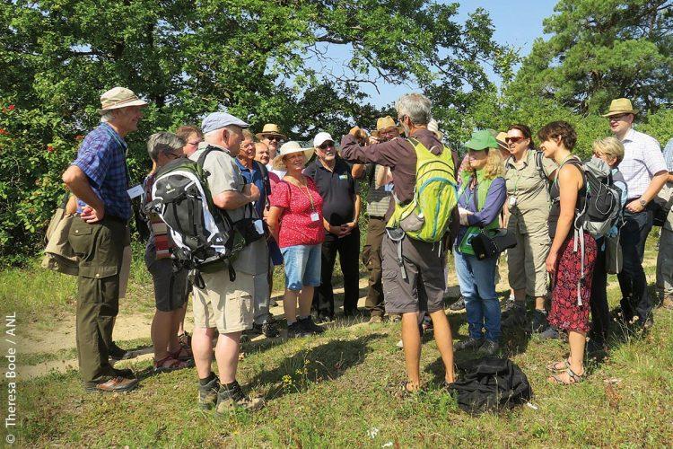 Eine regionale Führung der Bayerischen Akademie für Naturschutz und Landschaftspflege (ANL) in Unterfranken