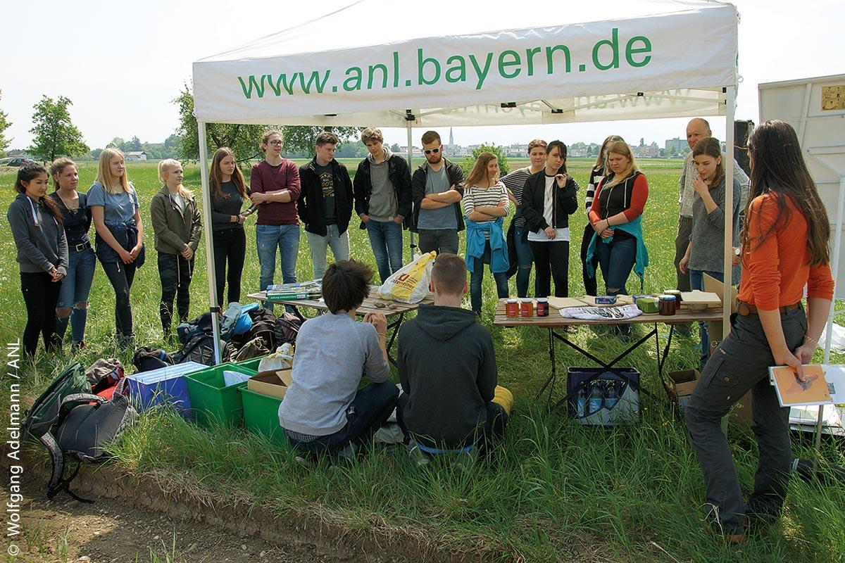 Eine von der Bayerischen Akademie für Naturschutz und Landschaftspflege (ANL) initiierte Schüleraktion 2018