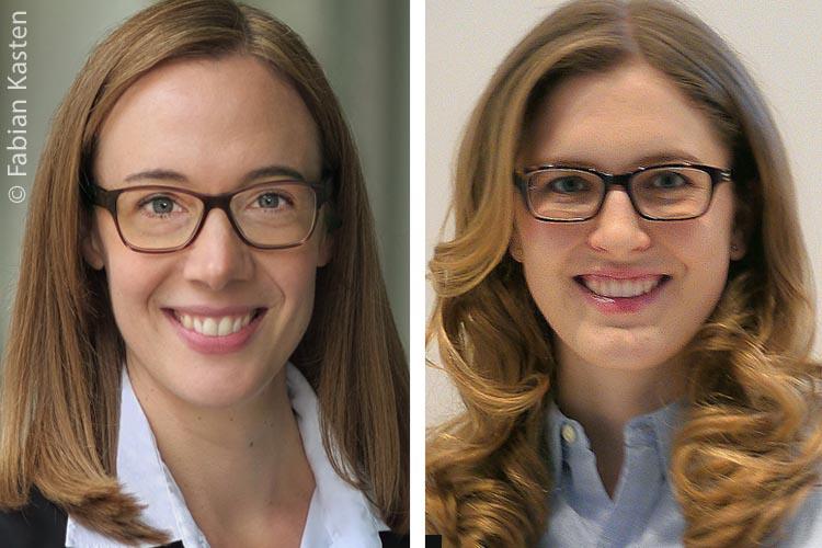 Theresa Kotulla, M.Sc. Architektur (rechts), und Frau Prof. Dr. Elisabeth Beusker (links) von der RWTH Aachen haben die unterschiedlichen Planungsanforderungen deutscher Bundesländer untersucht.