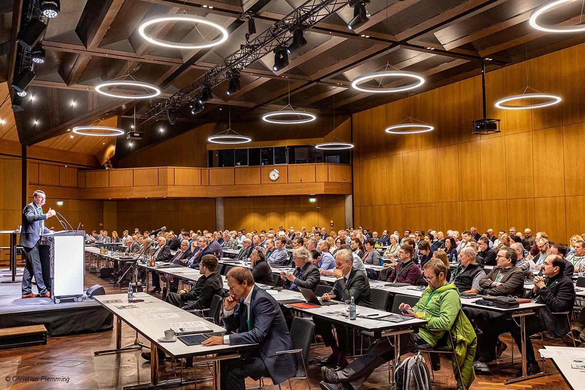 Über 500 Teilnehmer kamen zum Branchentreffpunkt in der Inselhalle Lindau zusammen.