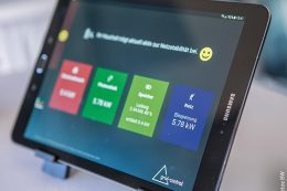 Die Einspeisung von Strom aus Wind- und Photovoltaikanlagen ist auf mobilen Geräten jederzeit abrufbar gewesen.