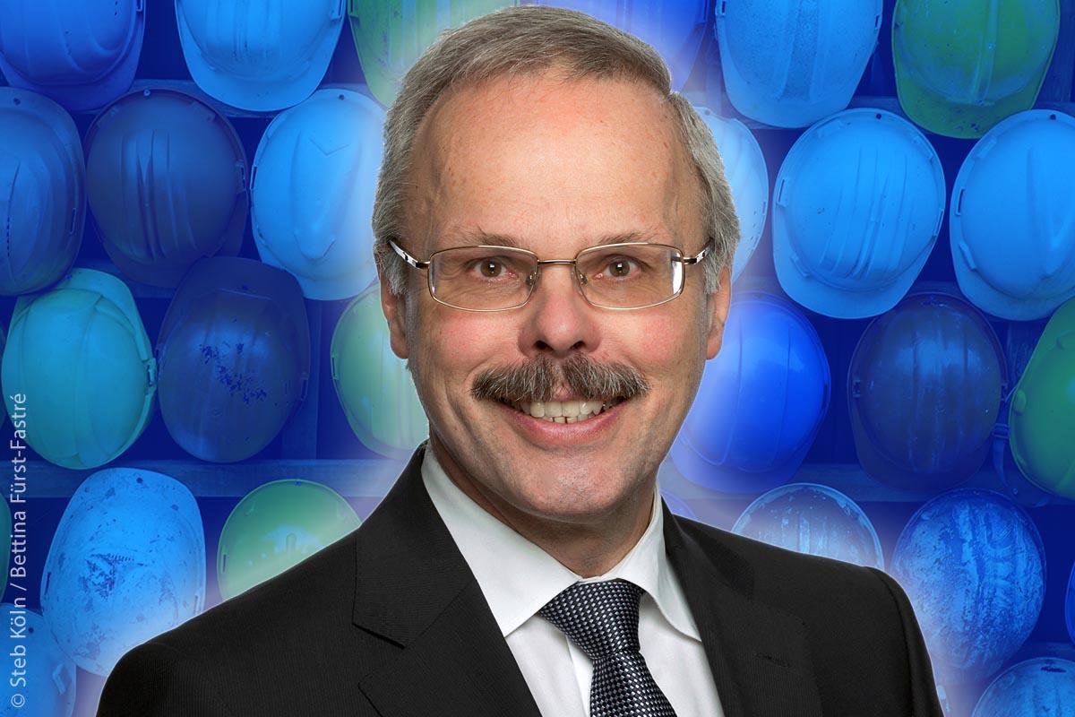Dipl.-Ing. Otto Schaaf ist eines von 14 Vorstandsmitgliedern der Gütegemeinschaft Kanalbau und vertritt die DWA.