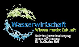 Veranstalterlogo der DWA-Landesverbandstagung 2019 Baden-Württemberg.