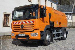 Ein CityFant 6000 war im Frühjahr 2019 in mehreren Gemeinden im Erzgebirge im Einsatz.