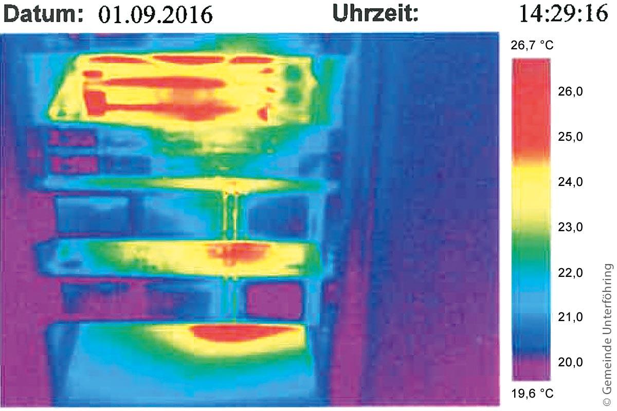 Thermografie kann die Kühlung in Serverräumen optimieren.