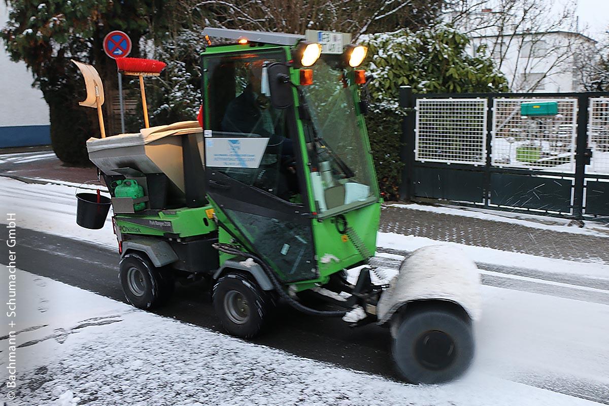 ParkRanger 2150 im Winterdienst