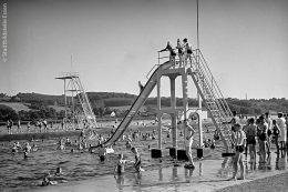 Das Baldeney-Bad an der Ruhr im Sommer 1939