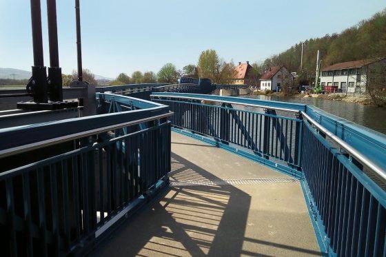 Die Glück GmbH baute die wahrscheinlich längste Aluminiumbrücke der Welt