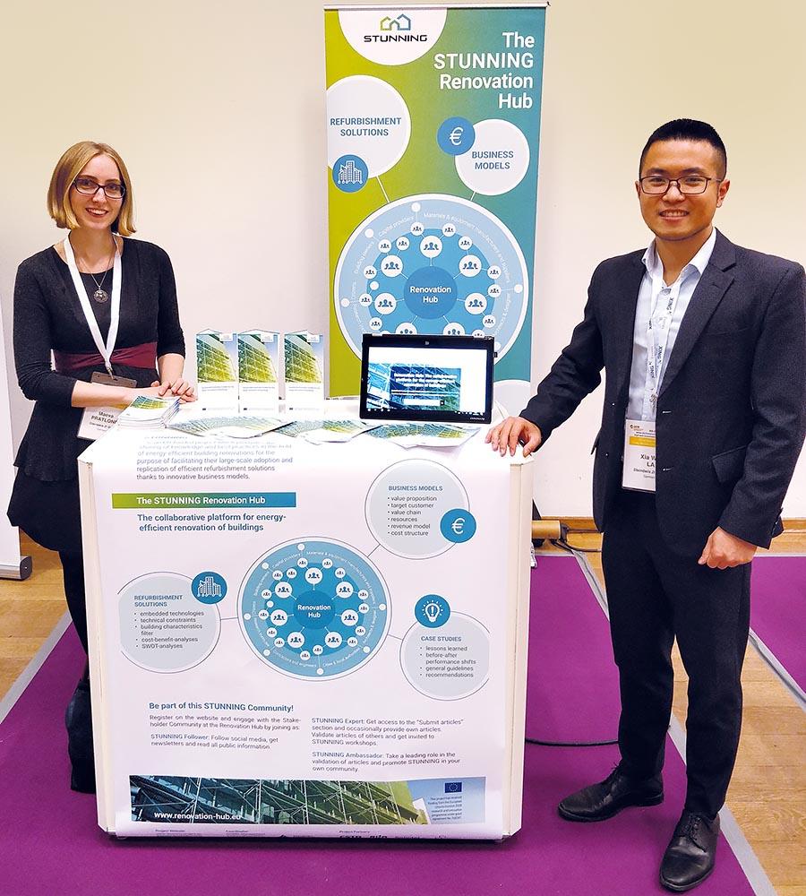 Maeva Pratlong (links) und Xia Wei La sind Berater und Ansprechpartner bei der Steinbeis 2i GmbH in Karlsruhe.