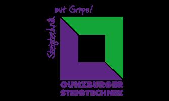 Das Firmenlogo der Günzburger Steigtechnik GmbH