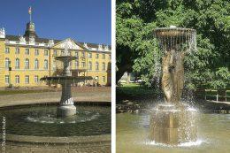 So eindrucksvoll die Brunnenanlagen im Schlosspark sind, von allen Anlagen sind sie am arbeitsintensivsten. Täglich muss ein Mitarbeiter die Becken und den Wasserfluss überprüfen und die Brunnen in regelmäßigen Abständen komplett reinigen.