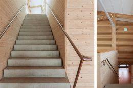 Treppenbereich der Beffendorfer Halle