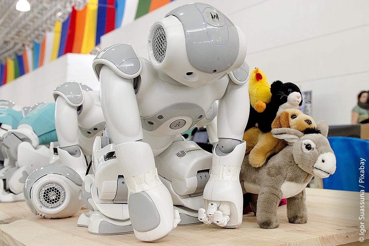 Früher waren humanoide Roboter oft zum Zeitvertreib steuerbares Spielzeug. Doch das änderte sich mit dem Aufkommen künstlicher Intelligenz.