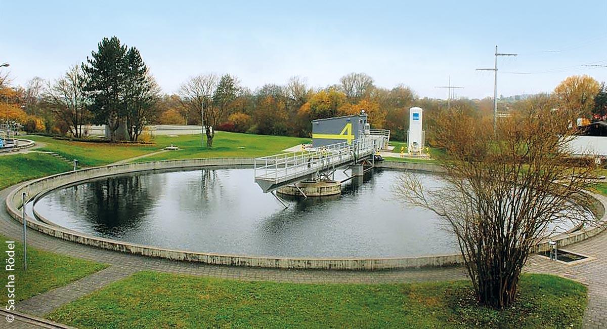 Die vierte Reinigungsstufe in Weißenburg wurde im Oktober 2017 in Betrieb genommen.