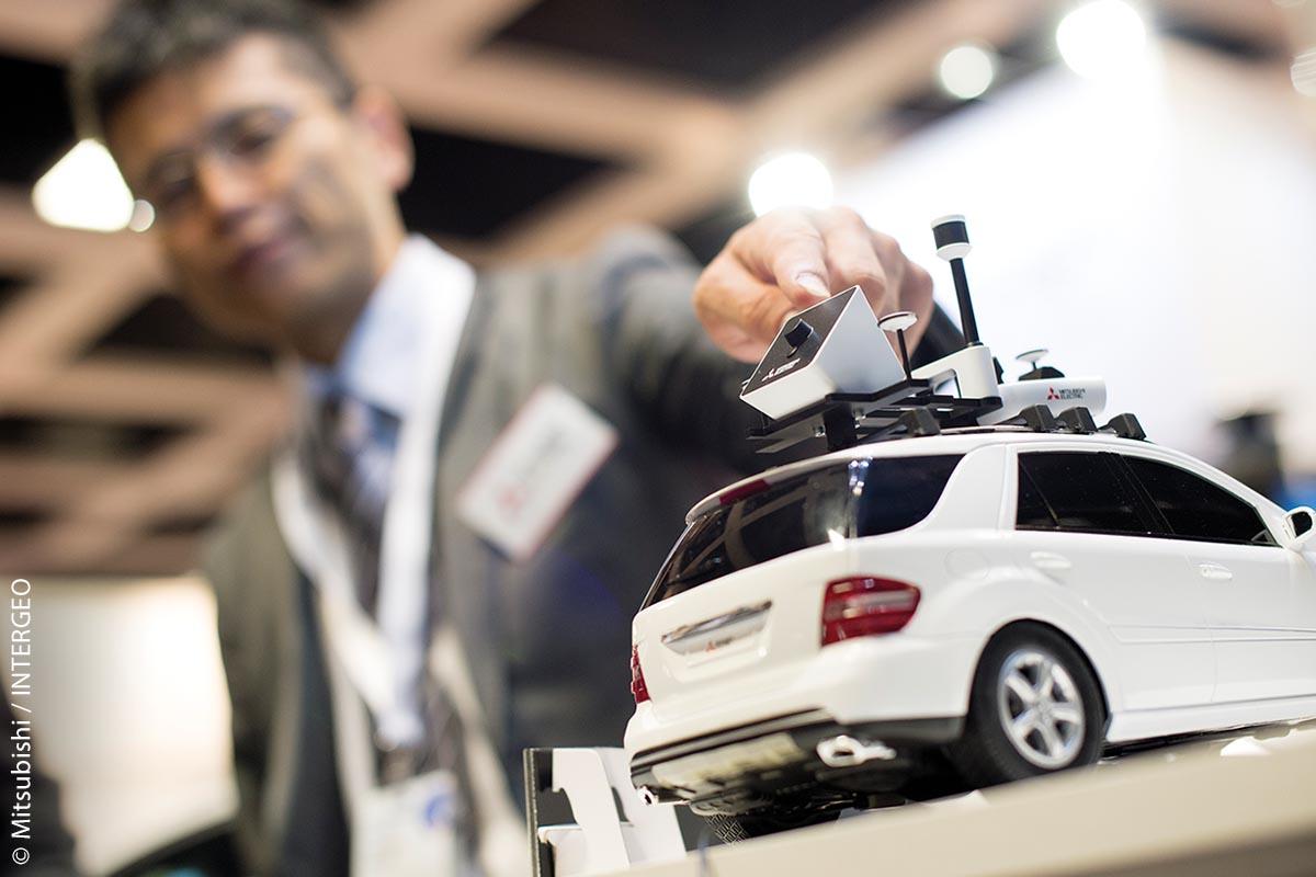 Mitsubishi Electric startet seine europaweite Geschäftsaktivitäten für Mobile Mapping und für das hochpräzise Globale Navigationssatellitensystem (GNSS) von Deutschland aus und ist auch in diesem Jahr wieder vertreten.