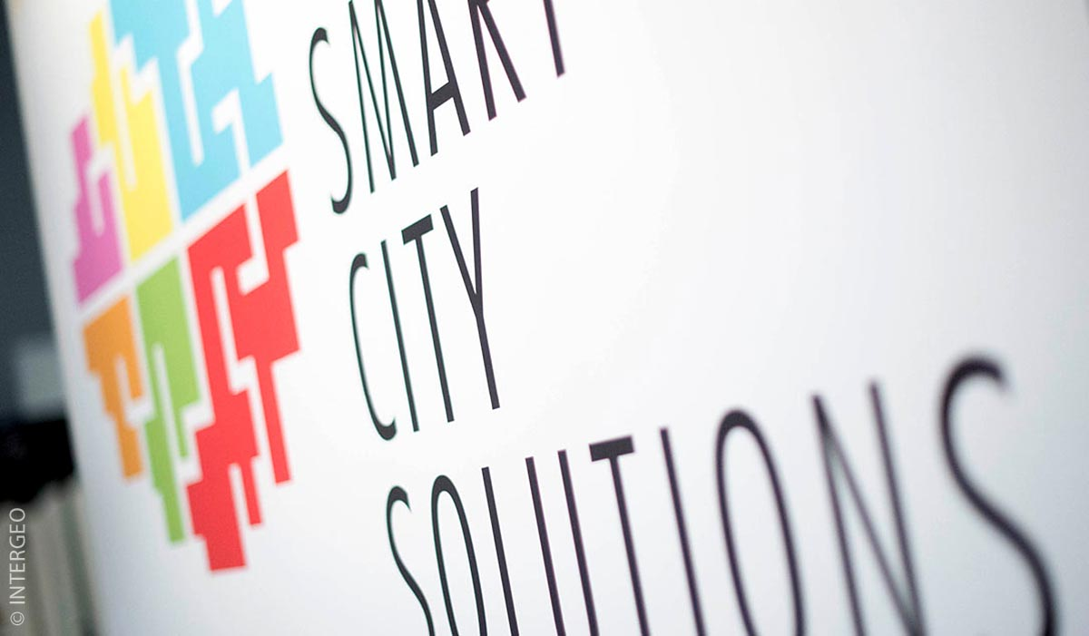 "Foto des Logos der Messe ""Smart City Solutions"""
