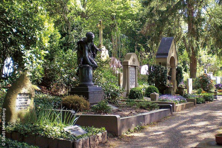 Der Bergfriedhof ist mit rund 15 Hektar Fläche der größte Friedhof in Heidelberg und der näheren Umgebung. Vier ausgeschilderte Rundwege laden dazu ein, den Bergfriedhof als Ort kulturhistorischer Schätze zu entdecken und die Grabstätten bedeutender Persönlichkeiten systematisch zu erkunden.