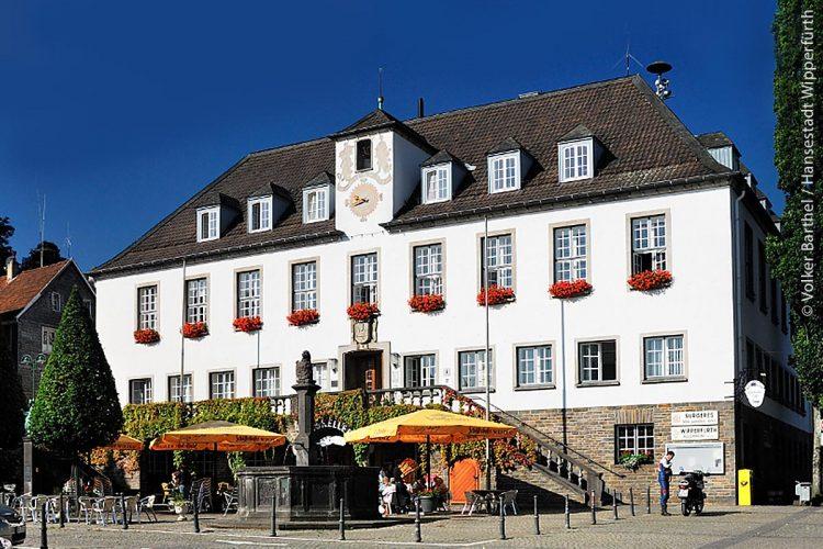 Das Rathaus von Wipperfürth