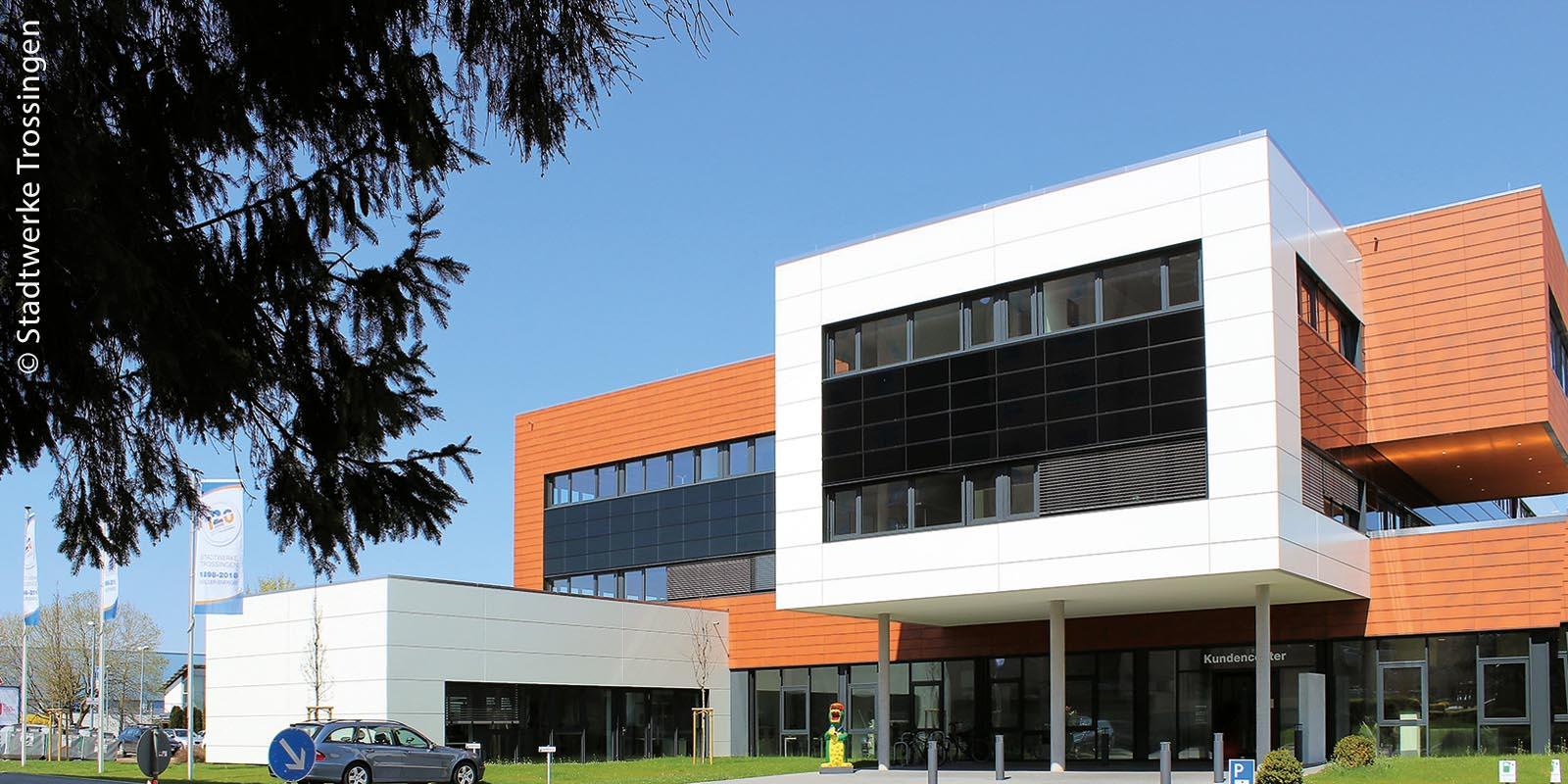 Das neue Gebäude der Stadtwerke Trossingen wurde mit vier Zeiterfassungsterminals und mit der digitalen Zutrittslösung Smart-Intego von Zeus ausgestattet.
