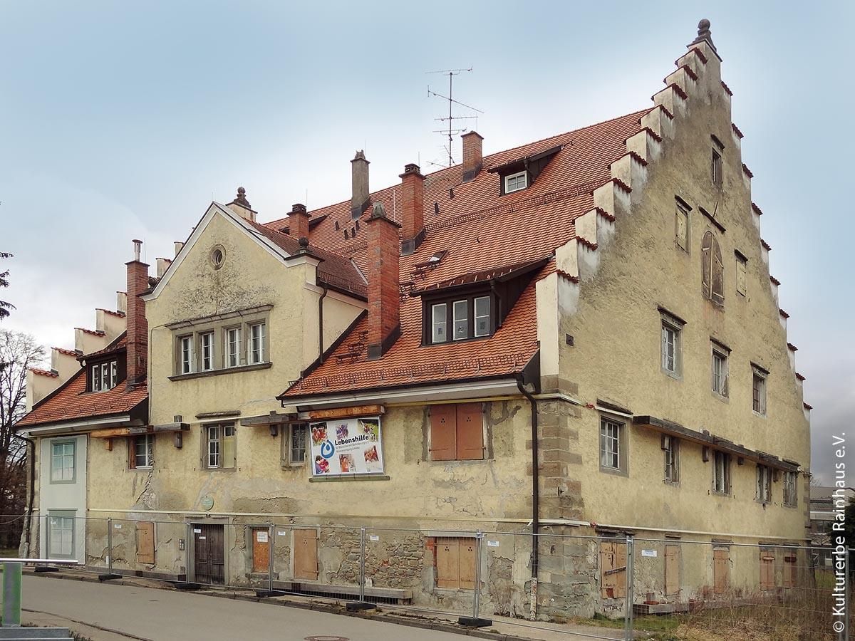 Das Rainhaus in Lindau vor der Sanierung
