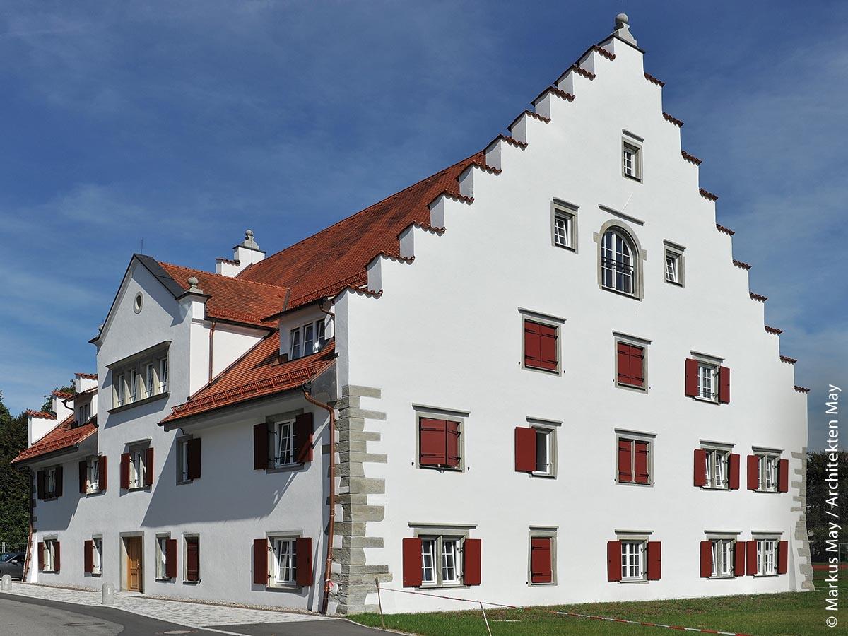 Das Rainhaus in Lindau nach der Sanierung