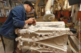 An Großbaustellen wie dem Ulmer Münster kommen Material und Handwerker aus der Region für ein Wahrzeichen der Region zum Einsatz.