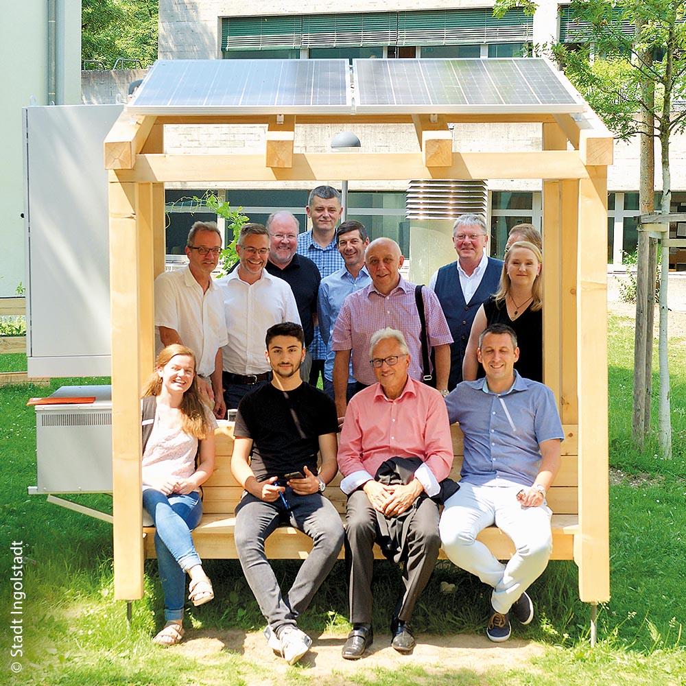 Photovoltaikanlage am Ingolstädter Katharinen-Gymnasium