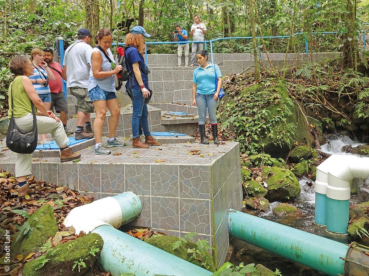 Schutz von Trinkwasserquellen in Costa Rica