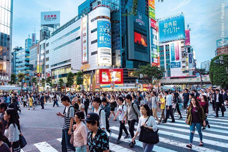 Tokio ist die größte und bevölkerungsreichste Metropole der Welt. Dicht an dicht leben hier etwa 38 Millionen Menschen.