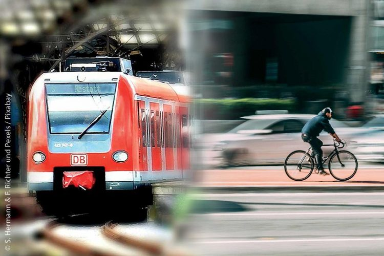 In Baden-Württemberg soll durch umfangreiche Aktionsprogramme und klimaneutrale Mobilitätskonzepte der motorisierte Individualverkehr reduziert werden.