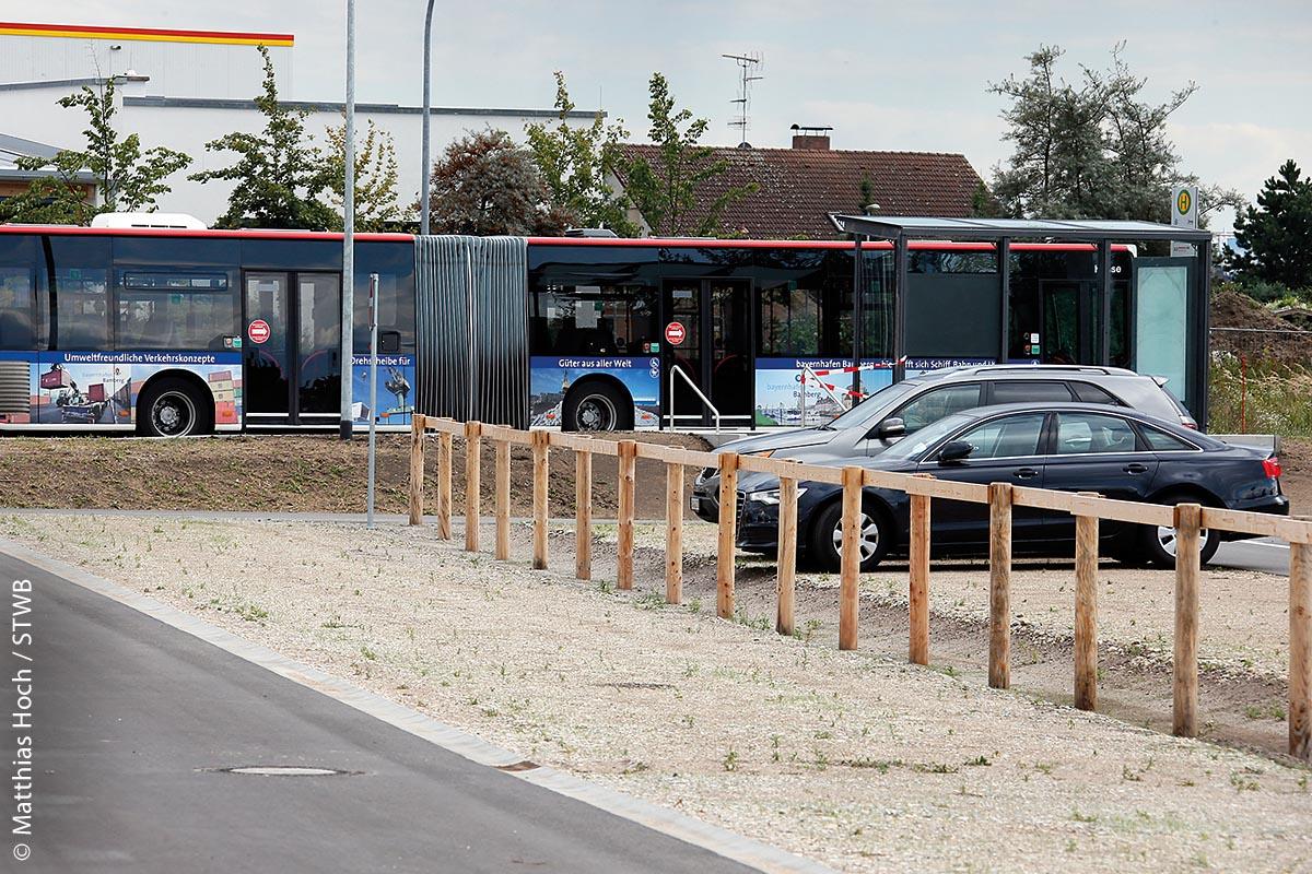 An der Kronacher Straße in Bamberg kann man seinen Wagen kostenlos parken und mit dem Bus kostenlos in die Innenstadt fahren.