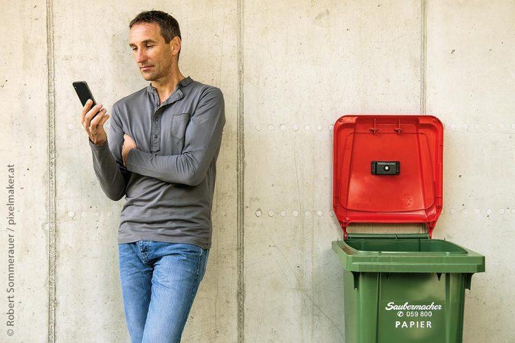 Sensoren in Müllsammelbehältern schaffen Transparenz und bedarfsgerechte Services.