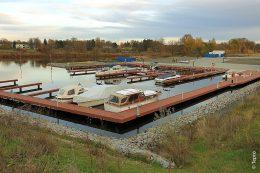 Beim Neubau der Marina am Zeppelinufer der Stadt Teltow war es wichtig, dass es als nachhaltiges Infrastrukturprojekt behandelt wird.