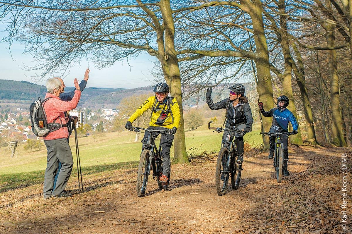 Gemeinsam Natur erleben – dafür setzt sich die Deutsche Initiative Mountainbike e.V. ein