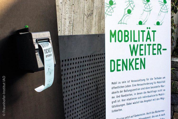 """Unter dem Titel """"Mobilität neu denken"""" startete in der Region Bayerischer Wald ein Pilotprojekt der Fraunhofer-Gesellschaft."""
